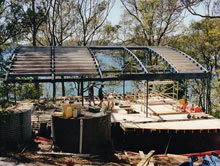 Steel Pergolas - Garages
